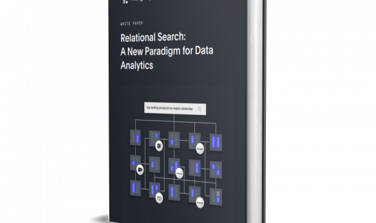 Relational Search: A New Paradigm for Data Analytics