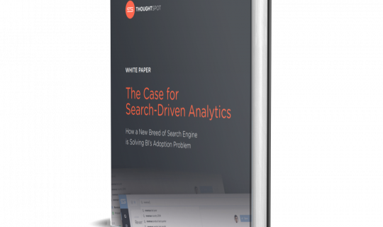 The Case For Search-Driven Analytics